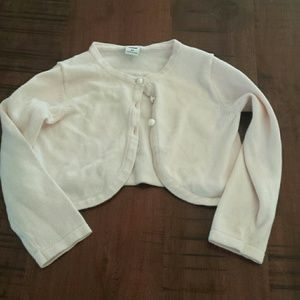 Janie and Jack cardigan light pink girl 2 t